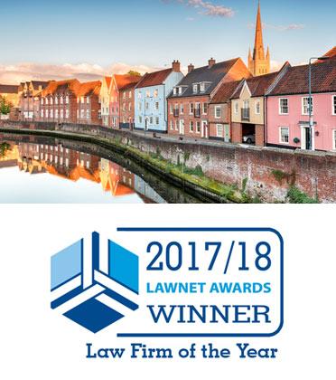 2017-18 Lawnet Awards Winner - Spire Solicitors LLP Norwich